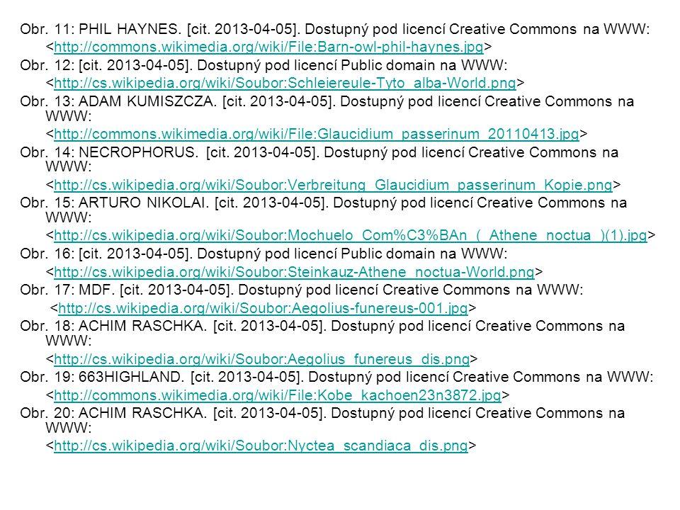 Obr. 11: PHIL HAYNES. [cit. 2013-04-05]